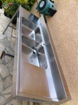 Evier inox double bac occasion - Evier inox professionnel occasion ...